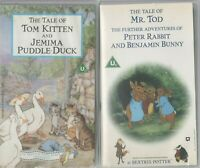 TALE TOM KITTEN & JEMIMA PUDDLE-DUCK + ME TOD PETER RABBIT BENJAMIN BUNNY VIDEO