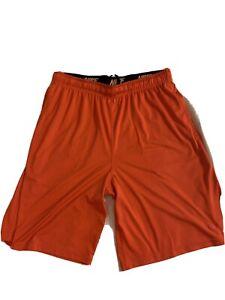 Men's DRI FIT Nike Shorts Red/Orange XL Used