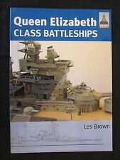 ShipCraft 15: Queen Elizabeth Class Battleships by Seaforth, Color Photos