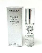 REVOLUTION Glass Skin Primer - Ultimate Dewy Finish Makeup Base Korean Trend NEW