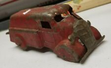 """Great Antique Marx Pressed Steel Toy Delivery Truck - 6.5"""""""