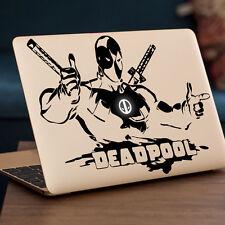"Deadpool avec logo apple macbook decal sticker fits 11"" 12"" 13"" 15"" & 17"" modèles"