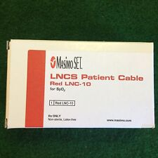 Masimo MPN 2059 RED 20 PIN PC-08: LNOP SpO2; LNOP Patient Cable, 8 ft.