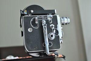 Bolex H16 Camera body with a 25mm lens