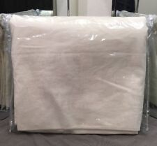 "Restoration Hardware Brushed Linen Cotton Drapery 50""W x 108""L Natural"