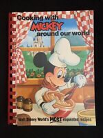 Cooking with Mickey Around the World (1986) Walt Disney Company - First Edition