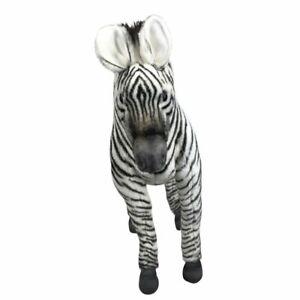 """Hansa Zebra soft plush toy 12""""/32cm Zebra Soft Plush Toy"""