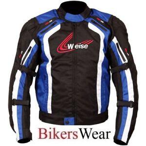 Weise Corsa - Waterproof Thermal Motorbike Motorcycle Jacket - Blue