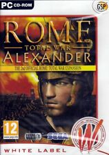 ROME TOTAL WAR Alexander Expansion (Strategy PC Game) FREE US SHIPPING