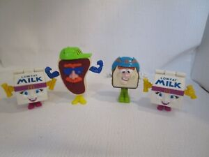 Vintage 1993 McDonald's Happy Meal Changeables Transformer Food Toys Set of 4