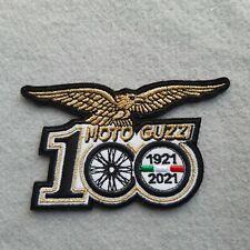 PATCH MOTO GUZZI 100 ANNIVERSARIO CENTENARIO RICAMATA ORO TERMO-REPLICA-COD 436