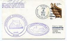 Hero Patagonia Palmer Station Villafane Burton Island USARP Polar Cover SIGNED