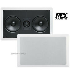 """MTX Audio CT2525LCR 5.25"""" In Wall 2 Way LCR Left Right Center Channel Speaker"""