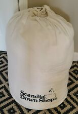 Luxury Scandia ascensia Down White Goose Down Comforter Size Queen with dust bag
