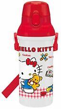 Skater Children's water bottle 480 ml Hello Kitty Gingham Check Made in Japan PS