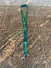 "ROLEX 2 Piece Detachable Neck &/Or Keys LANYARD ACCESSORY Green & Yellow 24"" L"