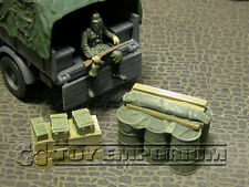 """RETIRED"" Build-a-Rama 1:32 WWII Deluxe Supply Stowage Set #3  (2 Piece Set)"