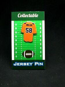 Denver Broncos Von Miller jersey lapel pin-Classic Collectible-Fan Favorite