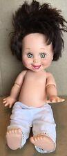 Galoob Baby Face Doll So Happy Heidi Brunette 1990