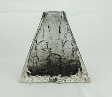 Whitefriars Pewter Pyramid Vase By Geoffrey Baxter c1960's
