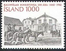 Iceland 1982 Horses/Animals/Commerce/Trade/Buildings/Architecture 1v (n25013)