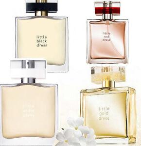 AVON Little Dress Eau de Parfum Black White Red Gold Pink Sequin YOU CHOOSE