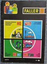 per Faller Modellismo Anno Catalogo 1971/72 - Lingua Olandese