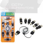 6 in 1 USB Adapter Travel Kit Cable to Firewire 4/6P IEEE 1394 NEW