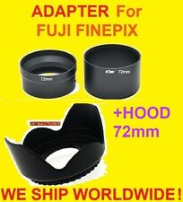 CAMERA LENS ADAPTER +FLOWER HOOD for FUJIFILM SL300 SL305 SL280 SL260 SL240 FUJI