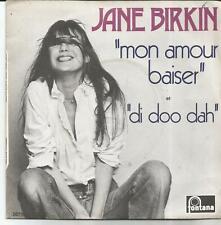 JANE BIRKIN Mon amour baiser SINGLE FONTANA 1973