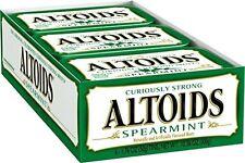 Altoids, Spearmint, Candy Mints 1.76 oz, 24 ct Tins