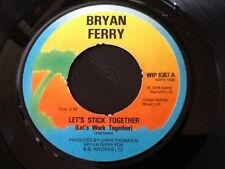 BRYAN FERRY . LET'S STICK TOGETHER . 1976 .