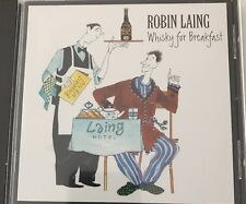 Robin Laing-Whiskey for Breakfast  CD Greentrax Scotland Folk