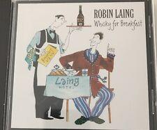 Robin Laing-Whiskey for Breakfast  CD Greentrax Scotland Folk