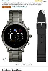 Fossil Gen5 Carlyle Smartwatch With 2 Bands
