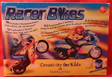 RACER Bikes/FABER-CASTELL/Creativity For Kids/5+/Nuovo/Scatola Originale
