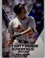 Will Clark 2018 Topps Update STORYBOOK ENDINGS Insert Cardinals #SE-9