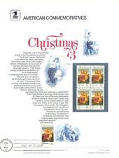 #25 8c Christmas Madonna #1507  USPS Commemorative Stamp Panel  w/FDC
