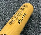 "Willie Mays Signed 34"" Stat Bat 312/500 Autographed PSA/DNA COA Giants HOF"