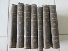 Oeuvres complètes de Shakespeare traduit par Benjamin Laroche. 7 tomes - 1843