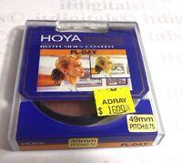 Hoya 49mm FL-DAY FL-D Daylight Balance Lens Filter Fluorescent 49 mm Japan Coate