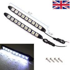 UK Car 9 LED Daytime Running Light DRL Daylight Fog Lamp Day Lights Waterproof