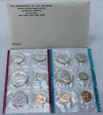 1972 United States Mint Uncirculated 11 Coin Set BU P and D Mint with Envelope