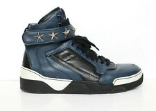 GIVENCHY Tyson blue high top trainers sneakers IT42 UK8 US9