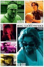 THE BIG LEBOWSKI (Jeff Bridges) Quotes Movie POSTER ~ 24x36