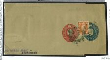 E289 Great Britain Cover 1954 Uprated WHS STO Compound Wrapper Used/ESC818