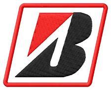 Bridgestone logo toppa ricamata termoadesivo iron-on patch Aufnäher