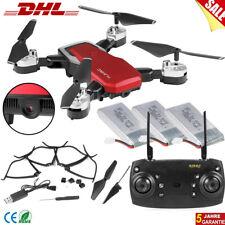 Quadrocopter Drone Drohne Faltbar mit 1080P 4K RC WiFi 5MP FPV 360° Kamera DHL