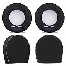 Spare Tire Cover For Trailers Tire Covers 4 Packfour Layers Dia 28in Black