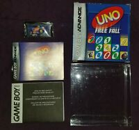 Uno Free Fall (Nintendo Game Boy Advance, 2007) Complete Box Manual Game GBA